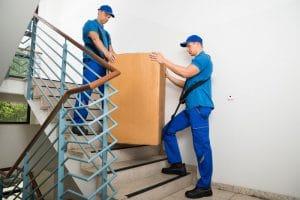 Treppen sind für uns kein Hindernis beim Umzug