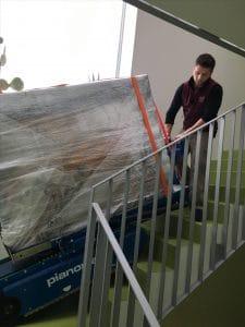 Alle Umzugsgüter werden sorgfältig eingepackt